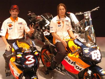 El Repsol Honda se presentó en Japón