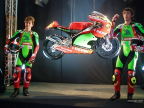 Caja Madrid Derbi Racing Team presented in Barcelona