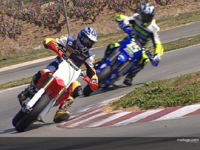 Fahrer der MotoGP Akademie beginnen mit dem Training