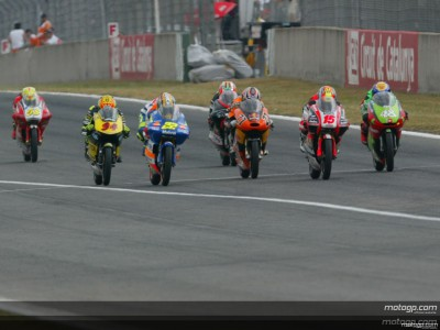 La categoría de 125 abre el Test Oficial del Circuit de Catalunya