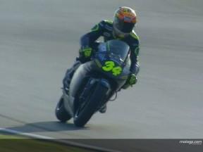 Andrea Dovizioso rompe el duelo Pedrosa-Porto en 250cc