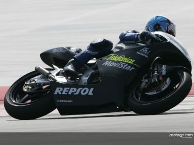 Pedrosa batte Porto negli ultimi secondi della 2ª sessione della 250cc