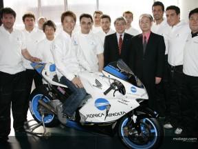 El equipo Konica Minolta Honda apunta alto en 2005