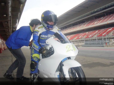 The MotoGP Academy on track at Catalunya