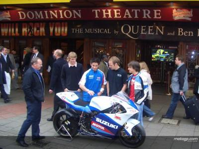 2005 MotoGP launch in London