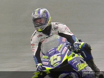 Jerez 2004: Gibernau takes wet home win