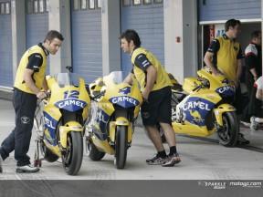 Las verificaciones técnicas, paso previo a la acción en Jerez