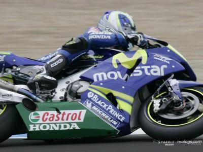 Gibernau muestra sus cartas en la primera sesión libre de MotoGP