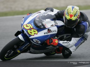 Simoncelli pips Pasini to provisional pole