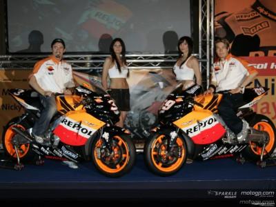 Repsol Honda holds presentation at Jerez