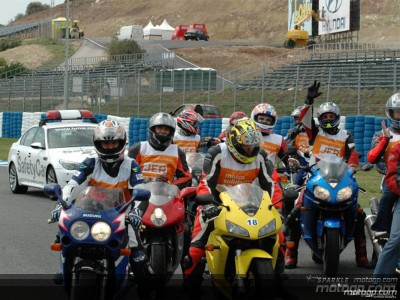 Motos Solidarias kicks off the 2005 season with a great success