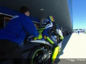 Simoncelli behält Pole Position im windigen Jerez