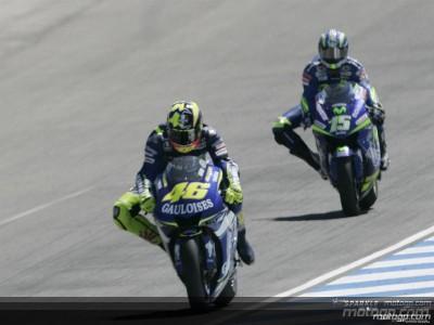 Rossi: `Al final he tenido más suerte, así son las carreras´