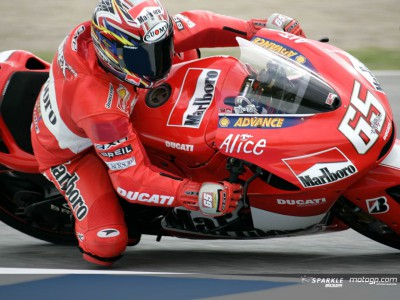 Ducati Marlboro Team race plagued by injury