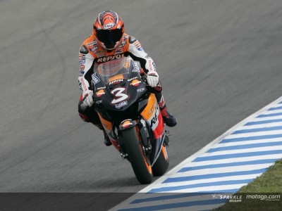 Biaggi and Hayden determined to pick up the pieces at Estoril