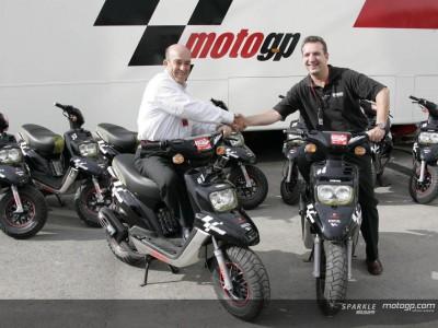 Yamaha announces the MotoGP Scooter Supplier deal