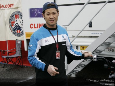 Tamada out of action after qualifying crash