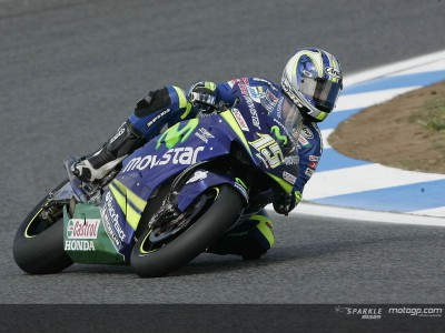 Gibernau: My only mistake was leading from the start