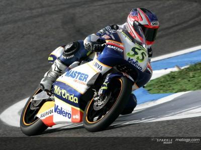Faubel è stato l'unico spagnolo sul podio di Estoril