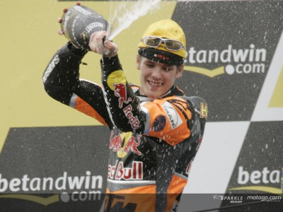 Kallio win puts KTM to top of the leader board