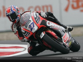 Casey Stoner takes the provisional pole