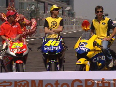 Shanghai welcomes MotoGP
