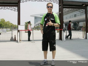 Jacque excited and eager for Shanghai race