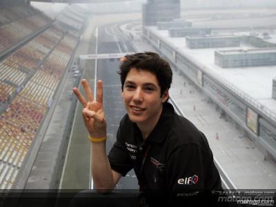 Aleix Espargaró sorpreso dalla terza posizione