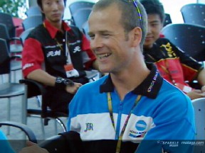 Jurgen van den Goorbergh fala da sua brilhante estreia no MotoGP na China