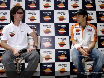 Hayden y Porto, estrellas de lujo en el Salón del Automóvil