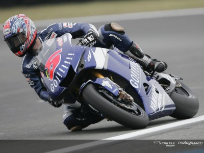 Edwards clocks fastest first practice time for Yamaha