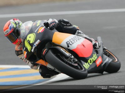 Porto clocks fastest lap ahead of Pedrosa