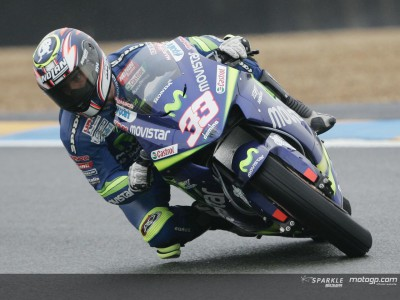 Movistar Honda MotoGP has strong presence in third session