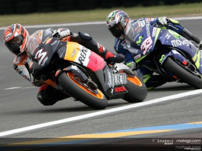 Mixed feelings for Repsol Honda Team