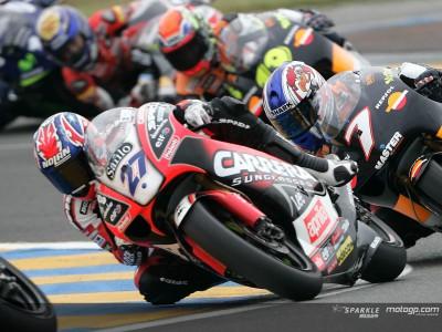 Stoner le plus rapide lors des essais au Mans
