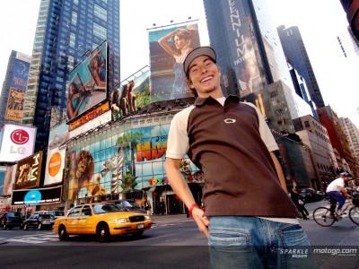 Hayden, abanderado de MotoGP en Nueva York