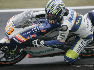 Gadea talks about his first podium of the season