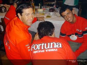 Los peregrinos del Fortuna Racing prosiguen la ruta