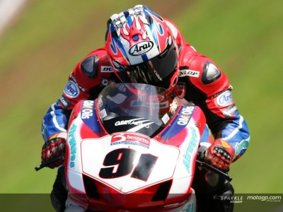 Haslam fastest in  Croft testing session