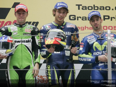 Italy dominate the MotoGP class
