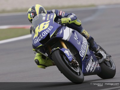 Valentino Rossi's Honda and Yamaha career compared