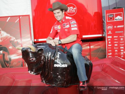The Ducati Cowboys mosey on down to Mugello