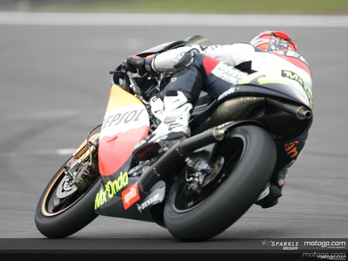 Sebastian Porto leads the way | MotoGP™