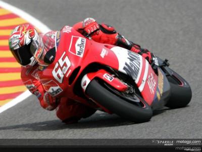 Warm- up: Capirossi il più veloce in MotoGP, Pedrosa in 250 e Kallio nella 125