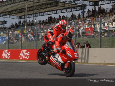 Mamola dispenses first class thrills at Mugello
