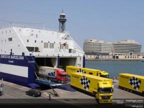 MotoGP kommt in Barcelona an