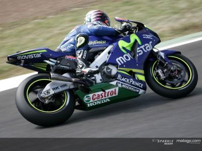Melandri führt die Hondas vor dem letzten Qualifikationstraining an