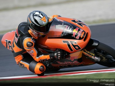 Ranseder scores for KTM in debut GP