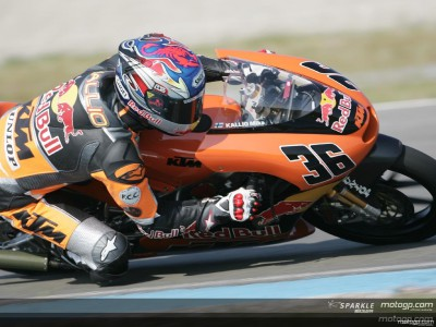 Kallio snatches pole position
