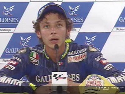 Rossi to start 75th Gauloises TT Assen from pole